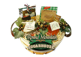 maple syrup gift baskets